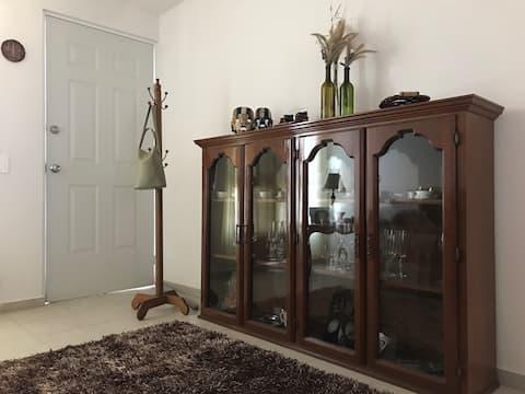 Confortable y cálida casa en Queretaro.
