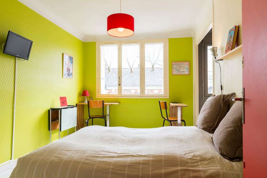 studio ind pendant le de nantes proche centre m apartments for rent in nantes pays de la. Black Bedroom Furniture Sets. Home Design Ideas