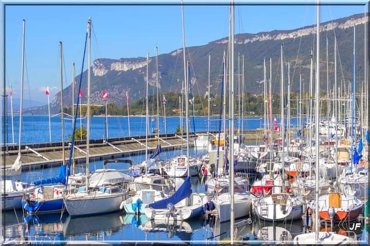 Jardin du Lac , 40 m2 Grand Port d'Aix les Bains