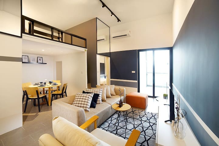 ღLuxuryღ Family 2BR Loft Suites next to LRT#AL20