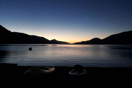 Lago Rupanco, casa Orilla de Lago.