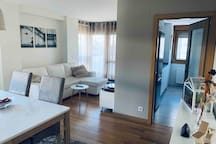 Nuevo y espacioso piso a 10 minutos del centro