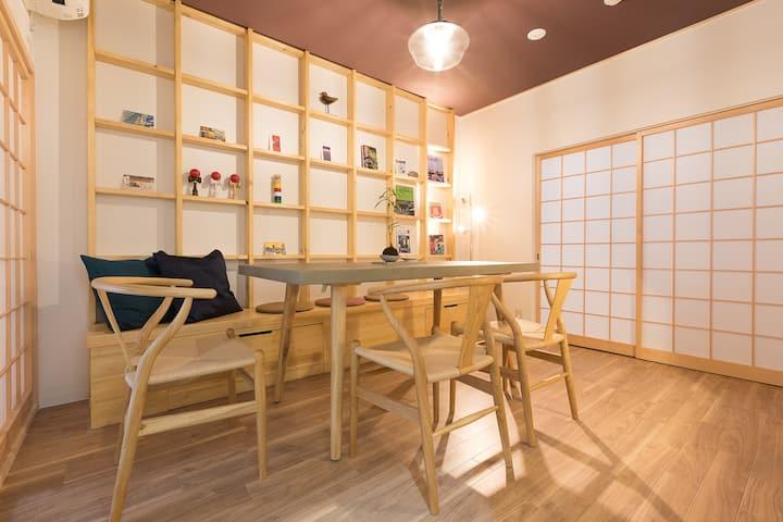 Near Kyoto sta and Fushimiinari★Traditional House!