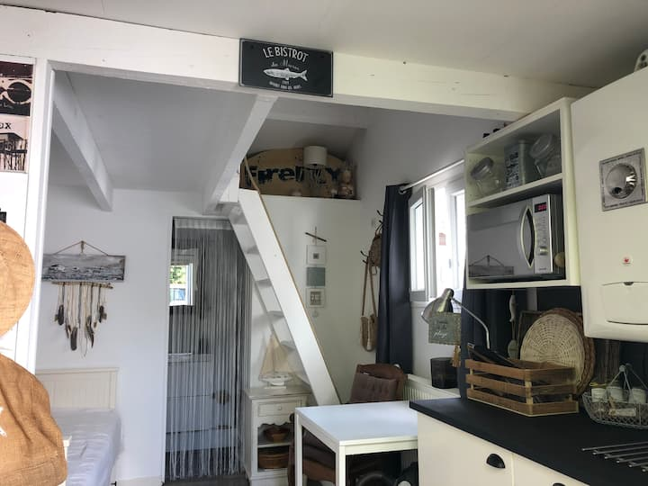 Studio duplex indépendant cosy proche Bordeaux