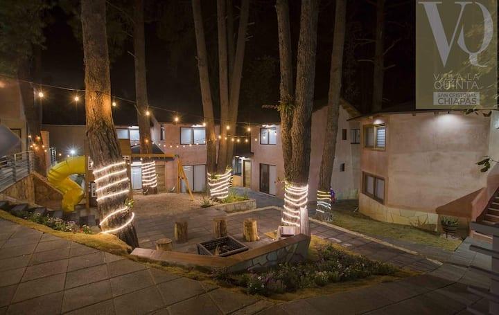 El espacio ideal para disfrutar San Cristóbal.