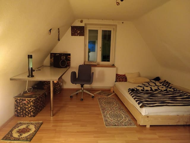 Nice room in a cozy house