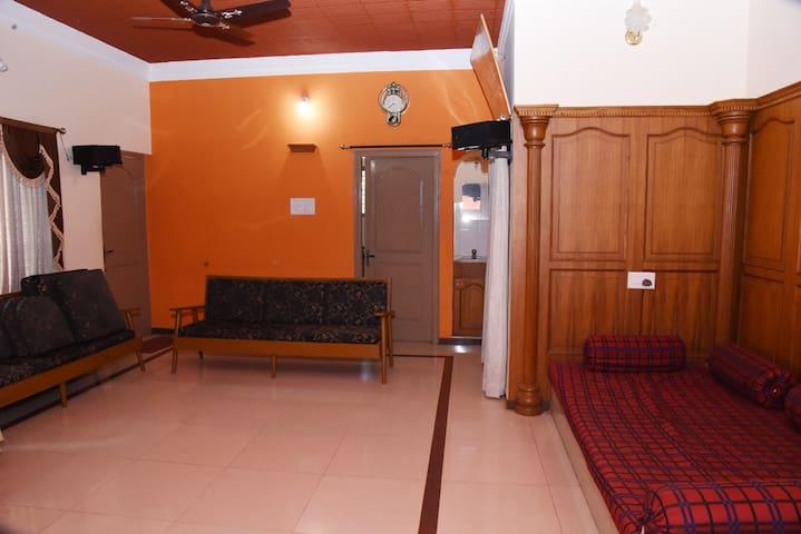 Main Living Room View #1 (with 2 Sofa Set)
