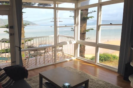 Beautiful beachside apartment - Daire
