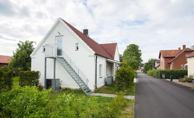 Studio på loftet i Sankt Olof