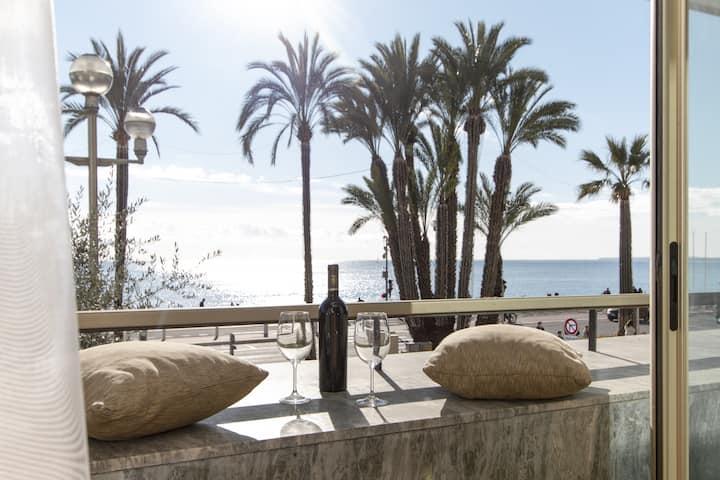 Promenade des Anglais - 1 bedroom apartment - Balcony - Sea view - Free cancellation