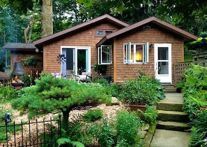 Cozy Mountain Cottage near Ohiopyle State Park - Hopwood - Guesthouse