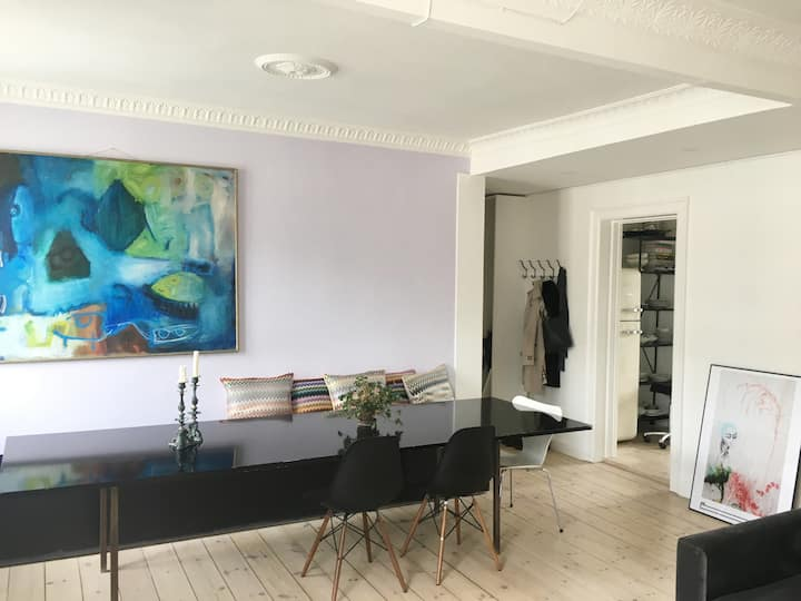Fully renovated apartment in central Nørrebro