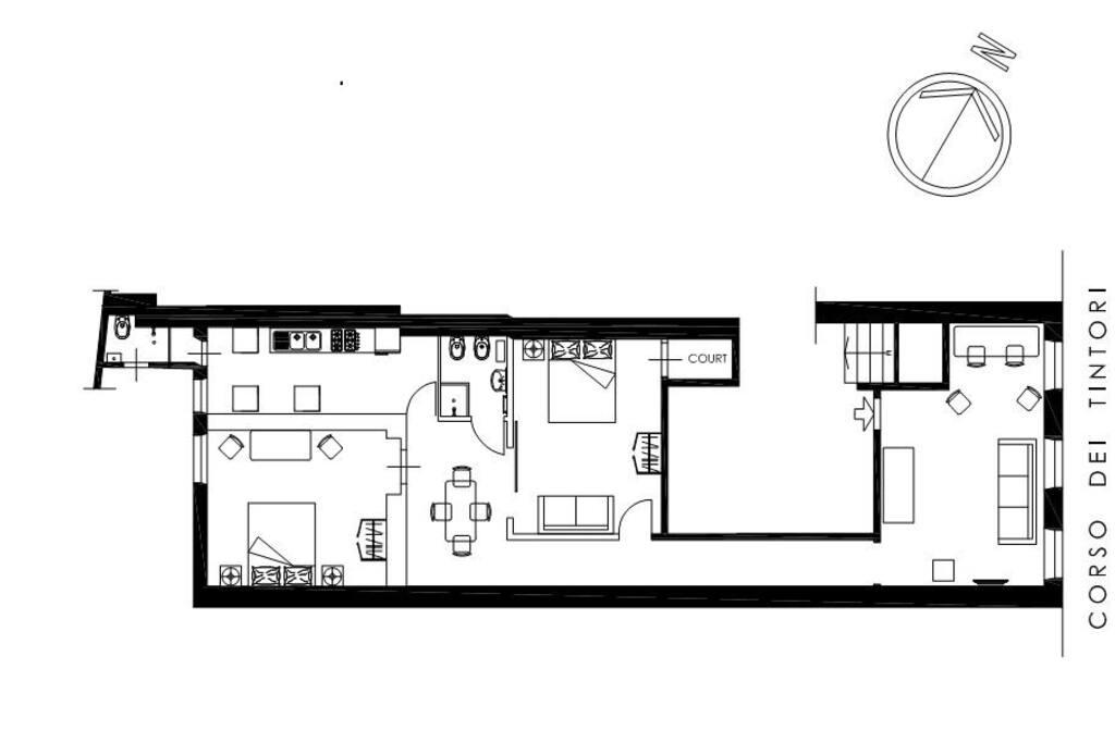 Floor Plan Pianta appartamento