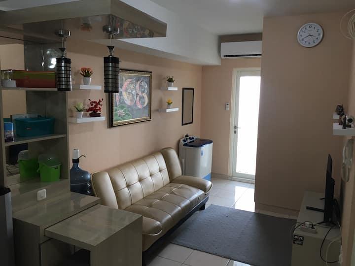 Private room apartemen springlake summarecon