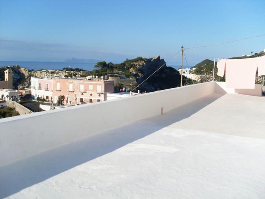 Parte del terrazzo