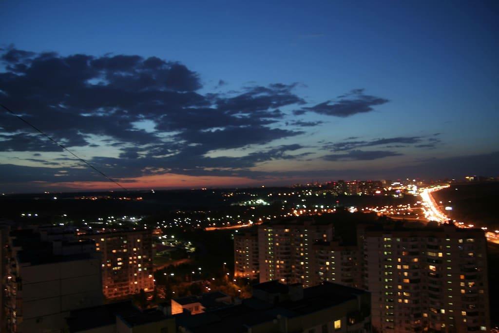 Amazing city view from 22 floor.