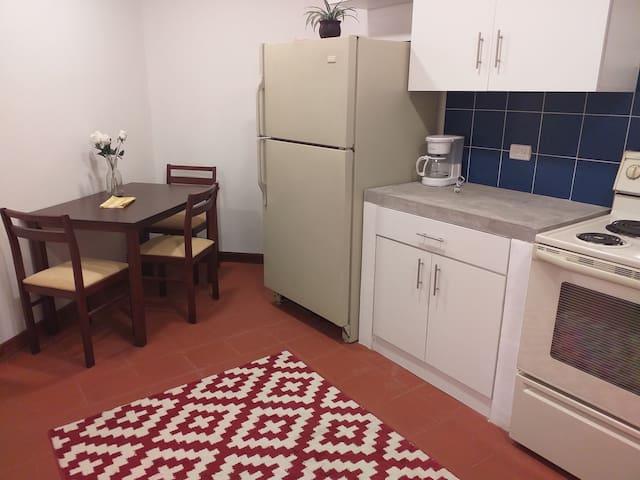 Cómodo y acogedor apartamento con 2 habitacione