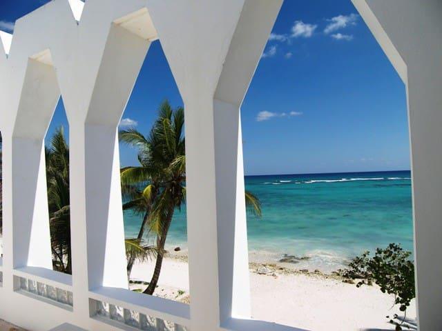 Caribbean Beachfront South Akumal, 5 Bedroom Villa - Akumal - Villa