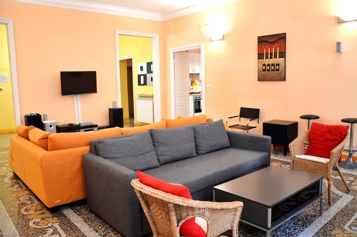 170m² - 4bedrooms-2bathrooms-12guests