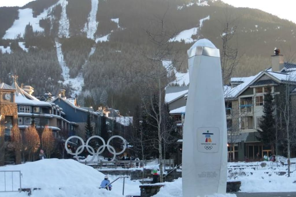 The condo is onveniently located in the heart of Whistler Village!