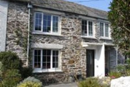 Cottage Boscastle, parking, small dog friendly - House