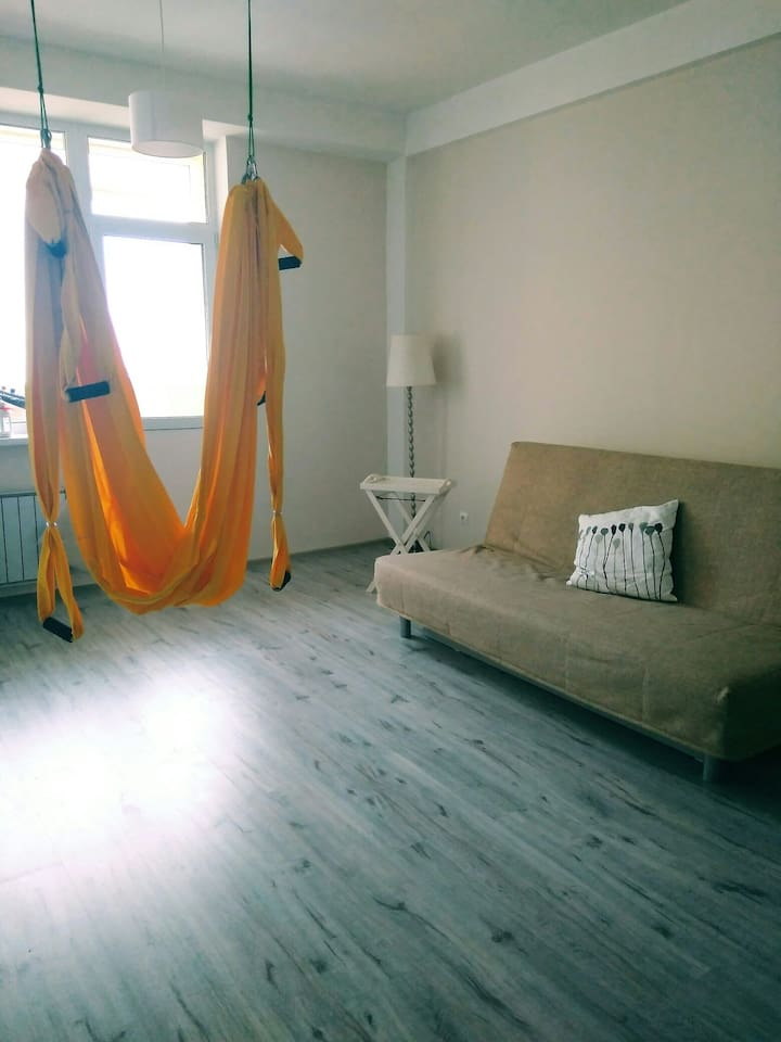 sweet bed + fly yoga hammock