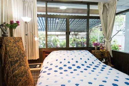 2 Tropical Villa/Center Dbl Rm+Bike - Bangkok