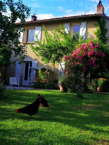Maison de village en Lauragais