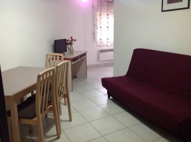 Studio pour 4 personnes au coeur d'Uriage (#104) - Saint-Martin-d'Uriage - Apartment