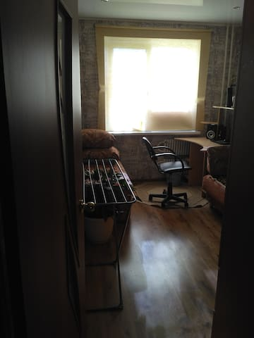 Комната в квартире в тихом районе.