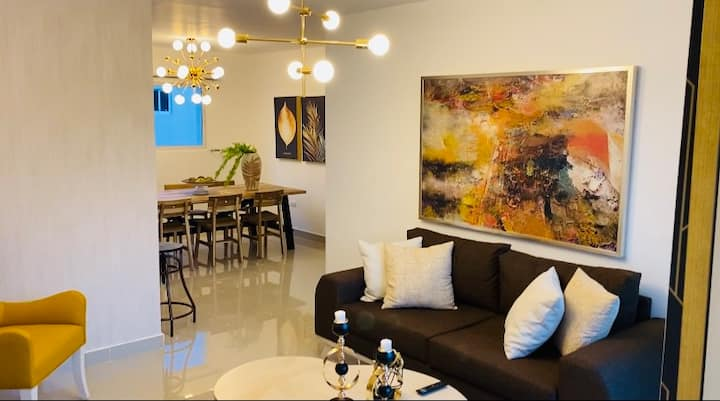 New and spectacular apartment