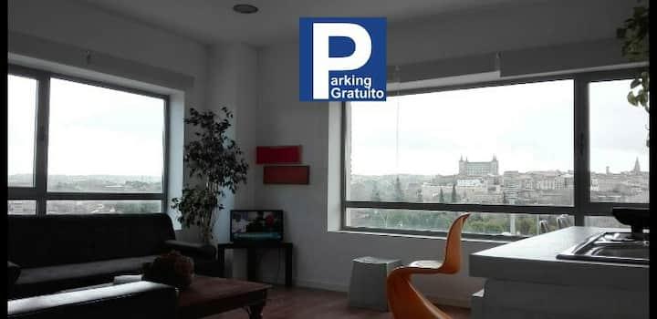 Parking público gratis a 50m Buenísima vista WIFI