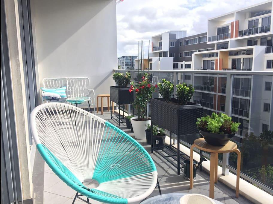 Balcony 7th floor