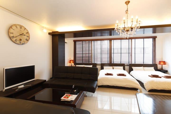 501room(75㎡)New Open!! SHINSAIBASI Special Room!