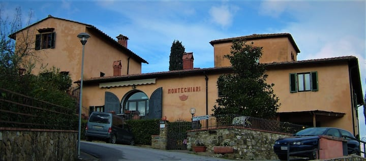 *** Montechiari in Chianti B&B *** Room 2 pax