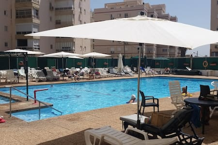 Luxuary appartment with swimming pool front of sea - Netanya - Lakás