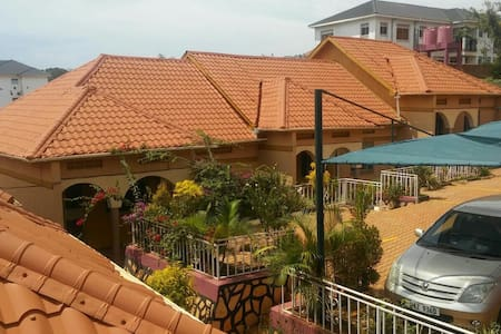 My apartment is located near town - Kampala