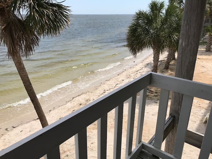 Beachfront townhome at Shell Point.