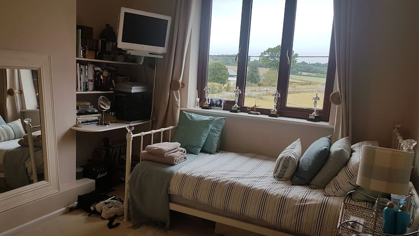 Single room in countryside family home