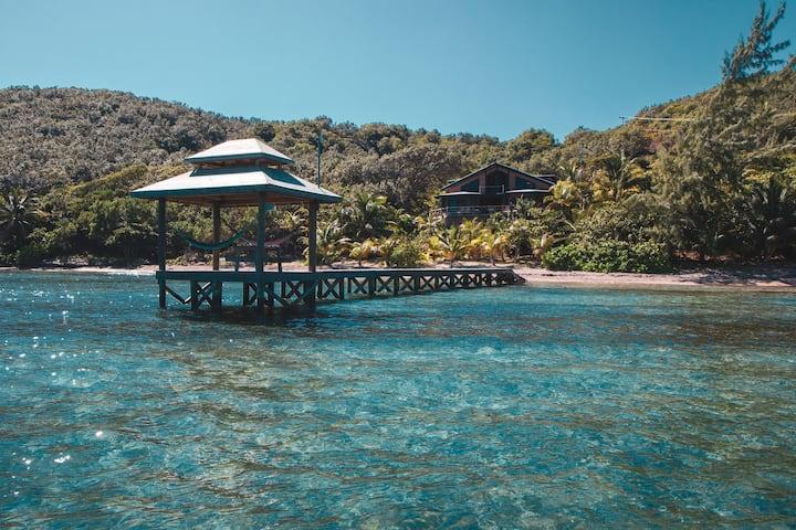 CORAL SHORES - Roatan's Best Views. Turquoise Sea!