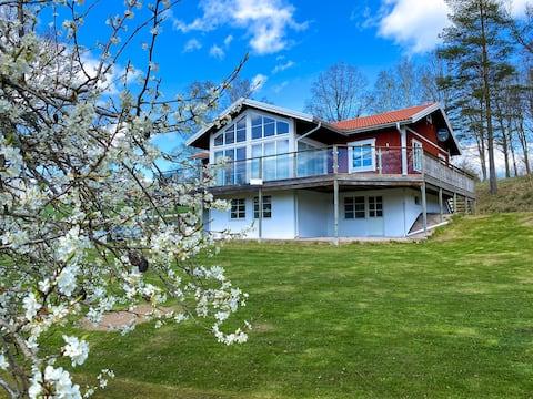 Villa Skirö - Uma casa de férias na tranquila Småland