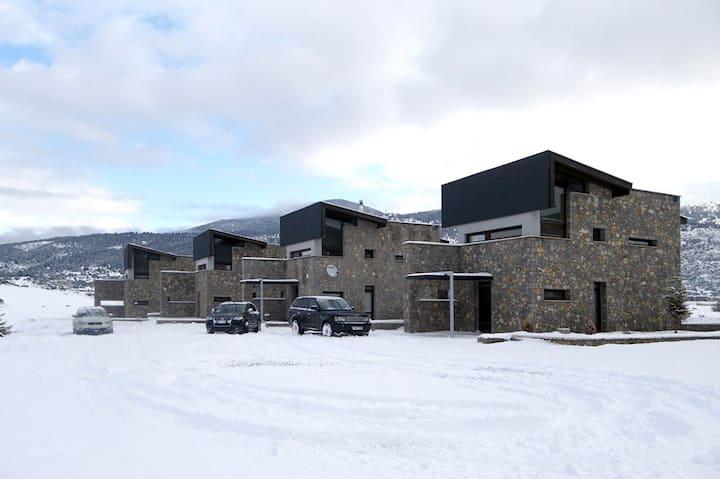 Arachova Livadi luxury villa A