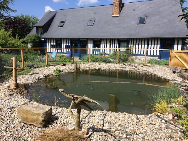 Charmante maison avec jardin zen