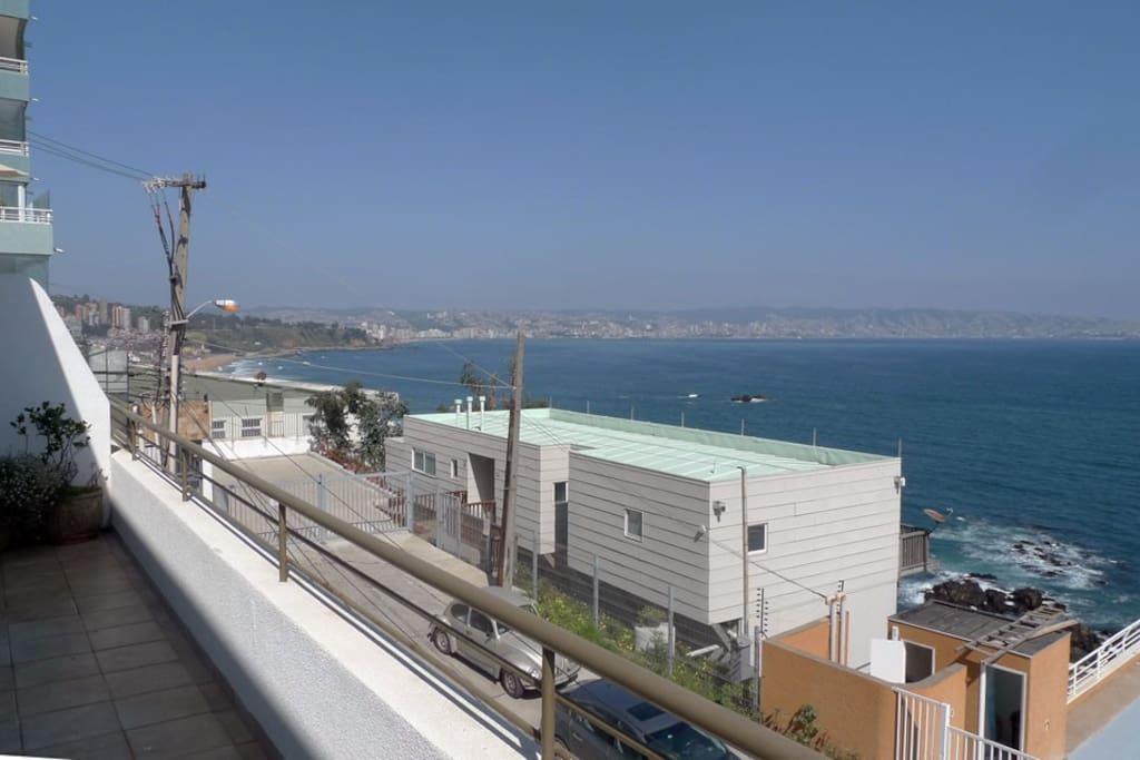 Vista panorámica 2 incluye Viña del Mar-Valparaíso