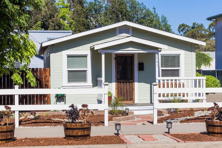 Two Palms Cottage at Beebee St. - San Luis Obispo - Casa