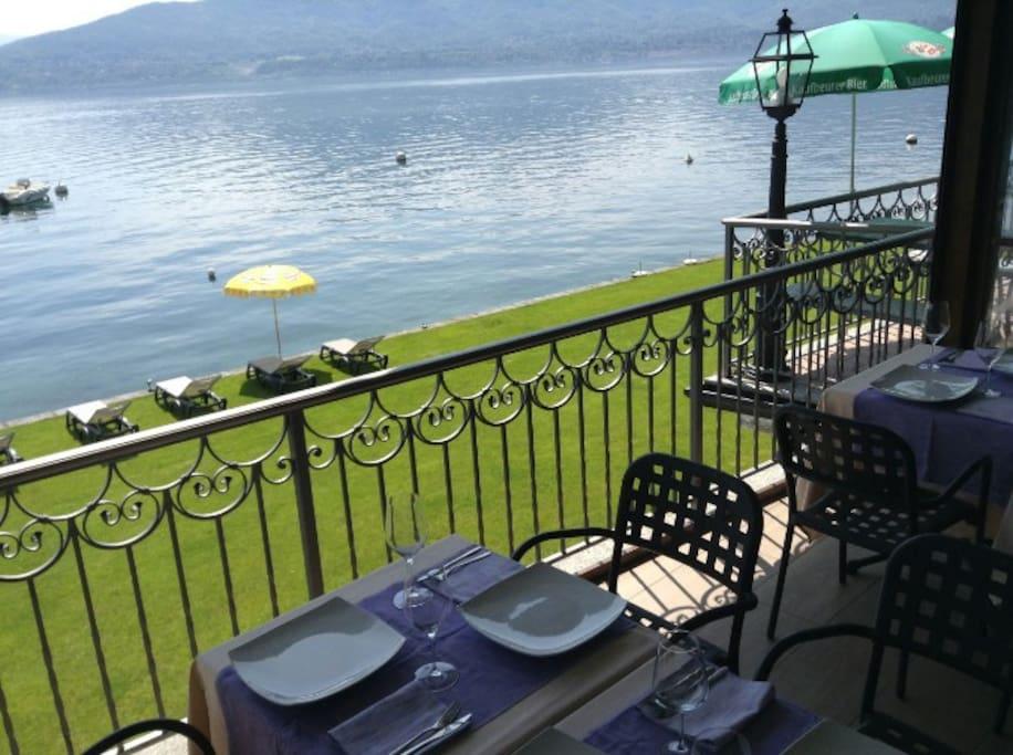 Beautiful view on Lake Maggiore