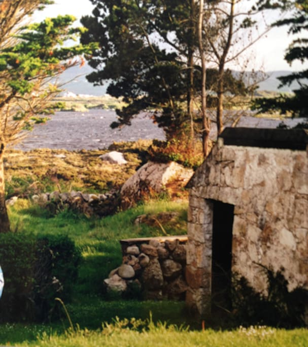 View to Lough Meela from house