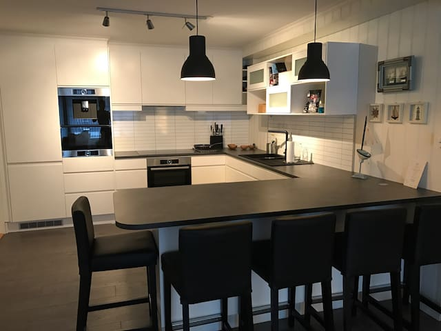 Modern, all-you-need-apartment - Halden - Daire