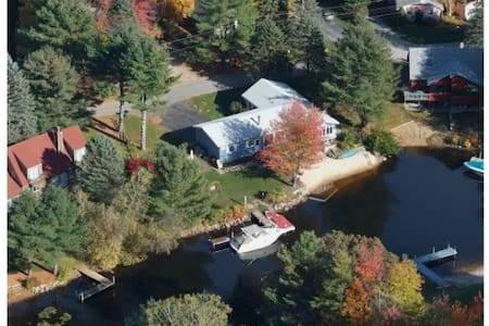 4 BR/ 2BA w/ Beach Lake House - Moultonborough - Rumah