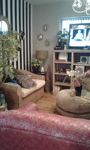 linda Habitación en casa compartida La Floresta